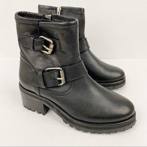 Steve Madden • New Gain Moto Boots